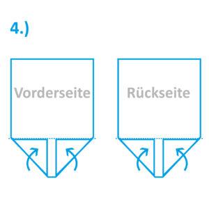 Anleitung Snack-Tüte Teil 4