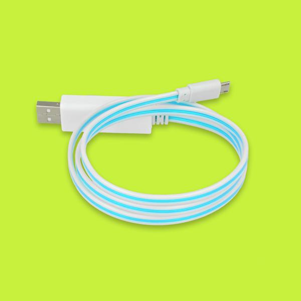 USB- Ladekabel mit Licht – so macht das Laden Spaß