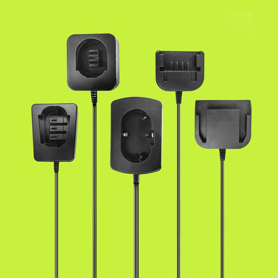 Kompaktes Ladegerät für Werkzeugakkus