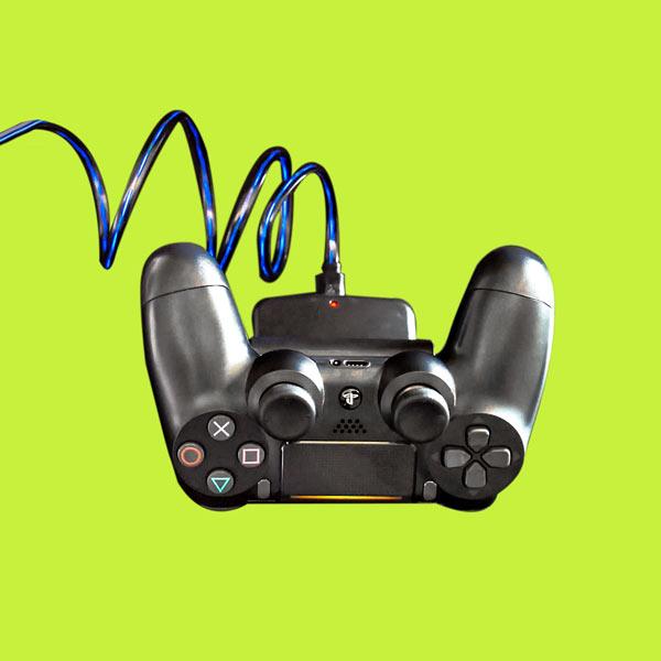 Playstation 4 Controller Ladestation mit LED-Licht