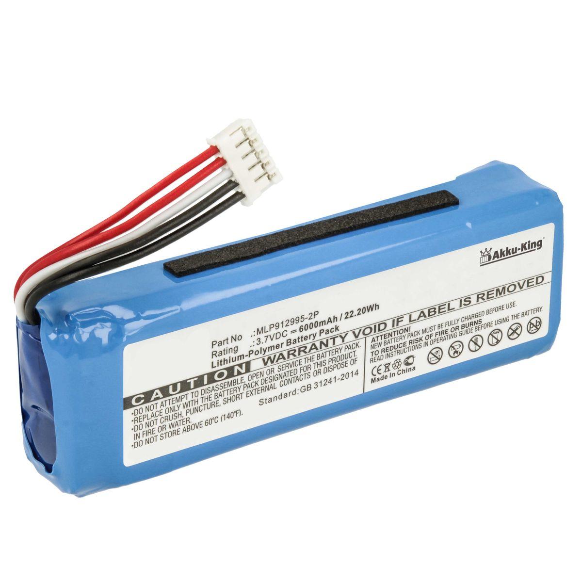 Den richtigen Akku für den JBL Charge Bluetooth Lautsprecher finden