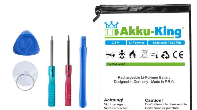 Anleitungen iPad Akku-Wechsel
