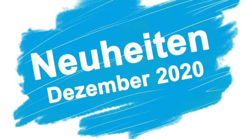 Neuheiten Dezember 2020
